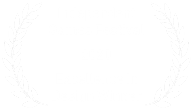 Independent Games Festival - Winner - Excellence In Design